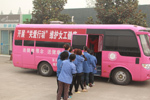 The Federation of Trade Unions of Suqian City do physical examination for female workers of Jaysun Glove