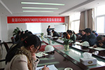 Jaysun Glove organizes training about Quality Management System Standard